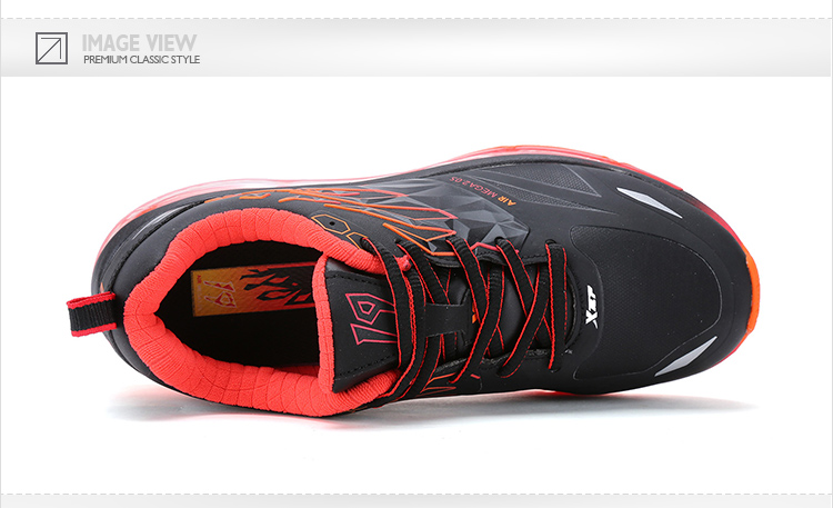 特步 专柜同款 2016冬季女跑鞋 气垫缓震 女跑步鞋运动鞋984418116162-