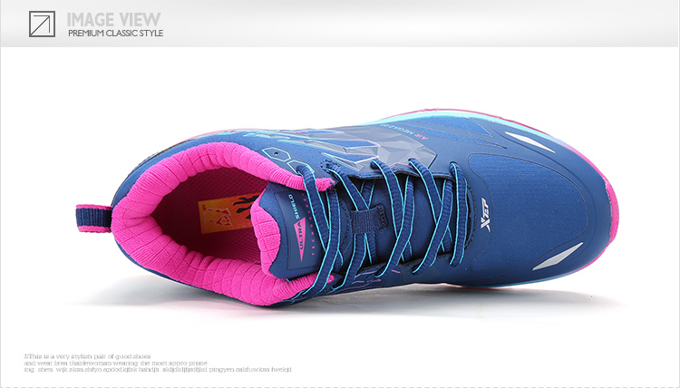 特步 女子第19代风火鞋网面版 防透水鞋面 气能环缓震女跑鞋-