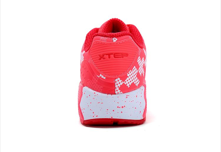特步 专柜同款 2016冬季女鞋 气垫时尚百搭 休闲鞋984418325959-