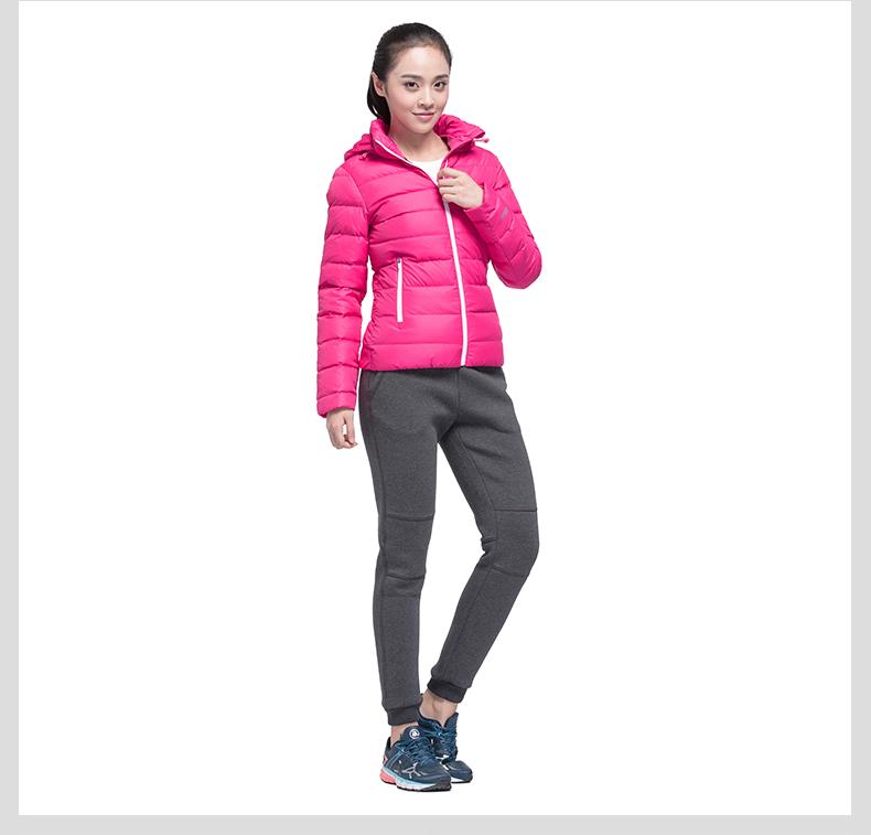 特步 专柜同款 女子冬季羽绒服984428190524-