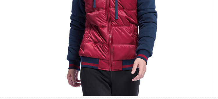 【特步官方商城】冬季新款男士休闲保暖厚棉服舒适时尚男款外出服保暖厚外套专柜同款985429180893-