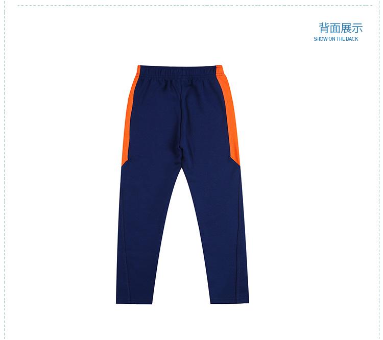 特步 专柜款 男童秋季针织长裤 17新品683325634012-