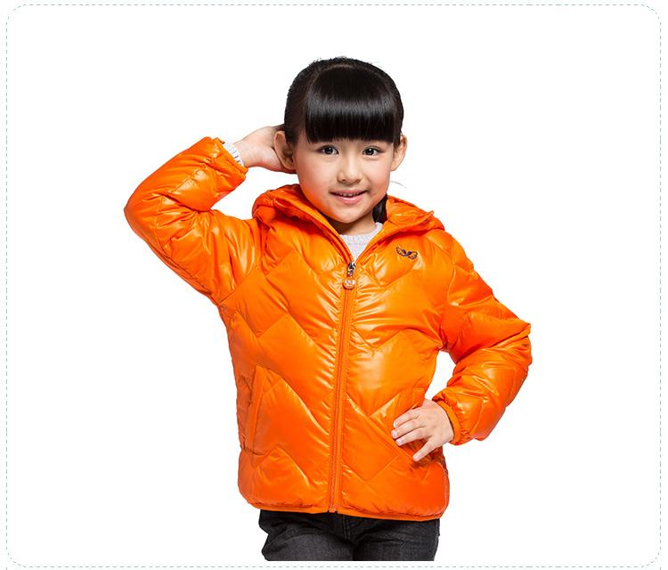 特步专柜同款 2016秋冬新品男、女童羽绒服 舒适保暖防风男、女童外套684326195188-